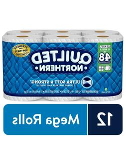 Quilted Northern Ultra Soft & Strong Toilet Paper 12 Mega Ro