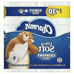 ultra soft cushiony touch toilet paper 6
