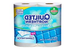 Quilted Northern Ultra Soft and Strong Tissue, Double Rolls,
