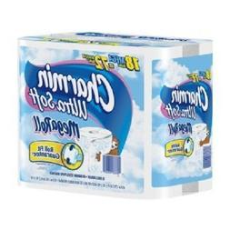 Charmin Ultra Soft Toilet Paper 6 Mega Rolls; Pack Of 3; 18
