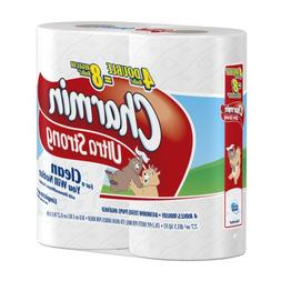 Charmin Ultra Strong, Double Roll, , 2 Ply, White-4pk