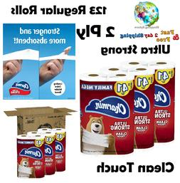 Ultra Strong Clean Touch Toilet Paper Household Supplies 123