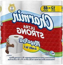 Charmin Ultra Strong Toilet Paper 12 Mega Rolls = 48 Regular