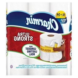 Charmin Ultra Strong Toilet Paper 12 Mega Plus Rolls