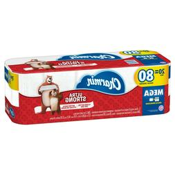 Charmin Ultra Strong Toilet Paper 20 Mega Roll NEW
