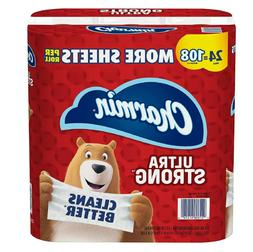 ultra strong toilet paper 24 mega plus