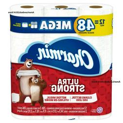 Charmin Ultra Strong Toilet Paper 1, 12, 24 & 36 Mega Rolls