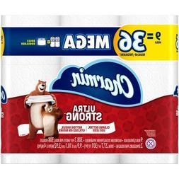 Charmin Ultra Strong Toilet Paper, Mega Roll, 9 count