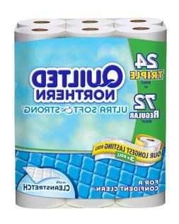 Quilted Northern Ultra Triple Bath Tissue Rolls, Soft and St