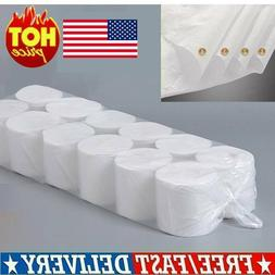 US Soft Paper 12 Rolls 4-Ply Toilet Paper Home Tissue Bathro