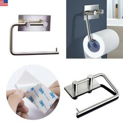 US Toilet Paper Holder Bathroom Suction Hanger Tissue Rack K