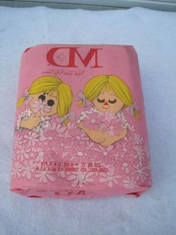Vintage MD PINK Twin Ply. Colored Toilet Paper pack. MCM. 4
