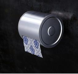 Wall Mounted Aluminum Waterproof Toilet Roll Paper Box Holde