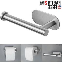 Wall Mounted Bathroom Toilet Paper Holder Rack Stainless Ste