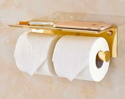 Wall Mounted Space Aluminum Towel Rack Roll Paper Holder Pho