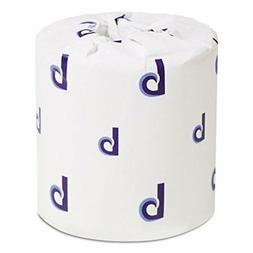 Bathroom Tissue, Standard, 2-Ply, White, 4 x 3 Sheet, 500 Sh