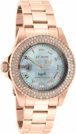 Invicta Women's Angel Limited Edition 40mm SS Rose Tone Swis