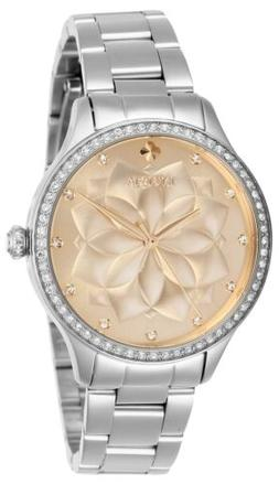Invicta Women's Wildflower 28053 35mm Rose Gold Dial Stainle