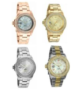 Invicta Womens Angel Limited Edition 40mm SS Gold & Rose Ton